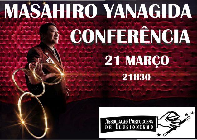 Conferência de MASAHIRO YANAGIDA